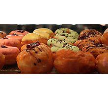 dougnuts Sabah style Photographic Print