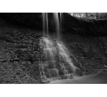 Blue Hen Falls in B&W Photographic Print