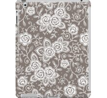 Roses lace seamless pattern. iPad Case/Skin