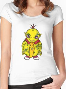 We Monster-2 Women's Fitted Scoop T-Shirt