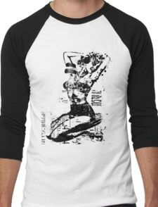 WWII PINUP Men's Baseball ¾ T-Shirt
