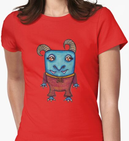 We Monster- 4 Womens Fitted T-Shirt