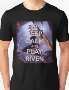 Keep Calm Riven Unisex T-Shirt