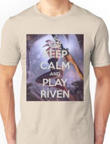 Keep Calm Riven Unisex T-Shirt