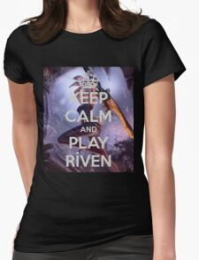 Keep Calm Riven Womens Fitted T-Shirt