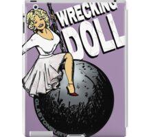 Wrecking Doll iPad Case/Skin