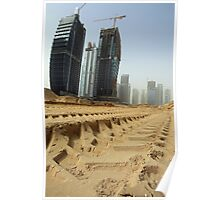 Dubai Under Construction Poster