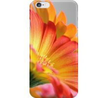 Flower on Gray iPhone Case/Skin