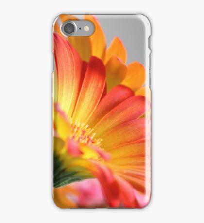 Flower on Gray iPhone Case/Skin