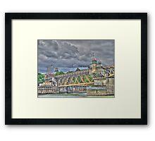 Portland Or Bridge 1 Framed Print