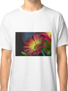 Red Yellow Flower Classic T-Shirt