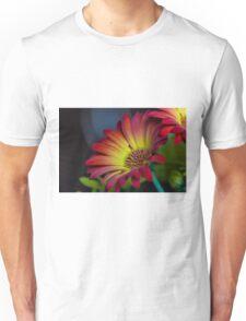 Red Yellow Flower Unisex T-Shirt