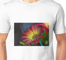 Red Yellow Flower Unisex T-Shirt