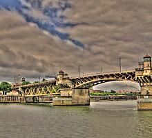 Portland Or Bridge 2 by pdsfotoart
