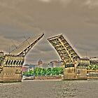 Portland Or. Bridge    by pdsfotoart