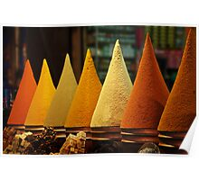 Moroccan Spice Rack Poster