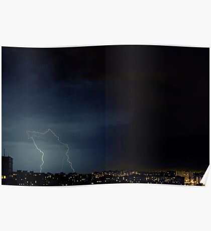 Night city. Poster