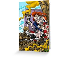 The Death of Cowman  Greeting Card