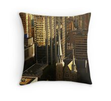 The Difference of Styles Throw Pillow