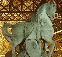 La Tour Eiffel II by Linda Hardt