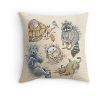 Groundlings (Print) Throw Pillow