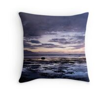 Not quite dawn Throw Pillow