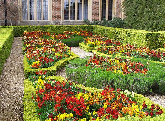 Hampton Court Garden by Linda Hardt