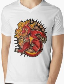 Charmeleon  Mens V-Neck T-Shirt