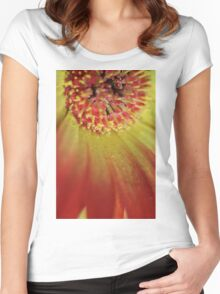 Explode Women's Fitted Scoop T-Shirt