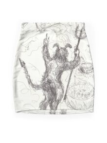 YOU WANTED FRACKING(C2014) Mini Skirt