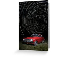 Time Machine. Greeting Card