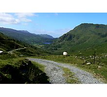 The Road To The Valley - North Wales Photographic Print