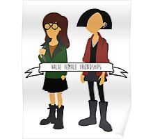 Daria & Jane - Value Female Friendships Poster