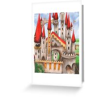 Hearts and Turrets Greeting Card