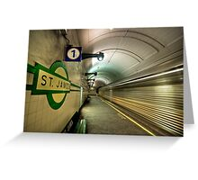 St James express Greeting Card