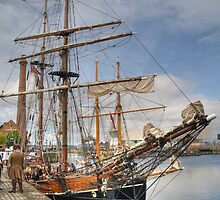 Tall Ships 'Zebu' & 'Vilma' - Canning Dock, Liverpool by seentwistle