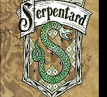 Slytherin parchment by ImalaSempai