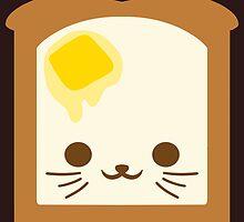 Kawaii Toast by MicahTheStrange
