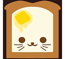Kawaii Toast Photographic Print