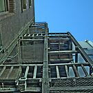 Fire Escape at Donkey Wheelhouse by cunners3