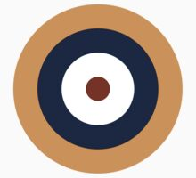 Royal Air Force - Historical Roundel Type A.1 1937 - 1939 Baby Tee