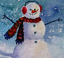 Snowman by Marsha Elliott