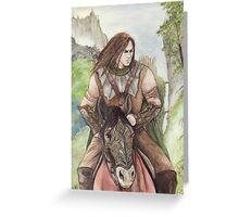 Tiernan Riding Greeting Card