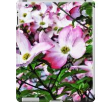 Pink Dogwood Blossoms iPad Case/Skin