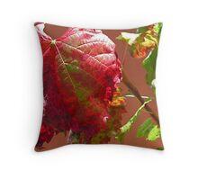 Autumn on the Vine Throw Pillow