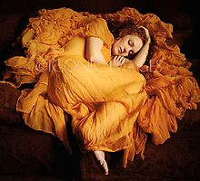 Flaming June Homage by IvoryFlame
