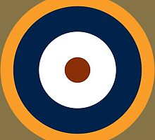 Royal Air Force - Historical Roundel Type A.2 1940 - 1942 by wordwidesymbols