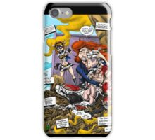 The Death of Cowman (with lettering) iPhone Case/Skin