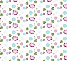 Modern Chic Floral Pattern by DoucetteDesigns