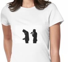Harry Styles Silhouette  Womens Fitted T-Shirt